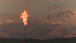 HD2008-8-1-9 gas flare Stock Video Footage