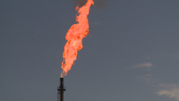 HD2008-8-1-21 gas flare Stock Video Footage