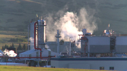 HD2008-8-1-29 gas plant Stock Video Footage
