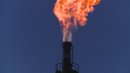 HD2008-8-1-31 gas flare Stock Video Footage