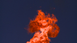HD2008-8-1-35 gas flare Stock Video Footage