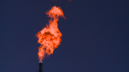 HD2008-8-1-37 gas flare Stock Video Footage