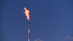HD2008-8-1-47 gas flare Stock Video Footage