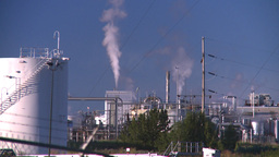 HD2008-8-1-49 gas plant Stock Video Footage