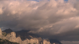 mountain clouds Stock Video Footage