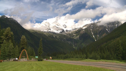 HD2008-8-1-75 rogers pass Stock Video Footage