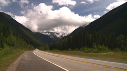 HD2008-8-2-1 Mtn highway Stock Video Footage