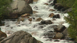 HD2008-8-2-7 mountain stream Stock Video Footage
