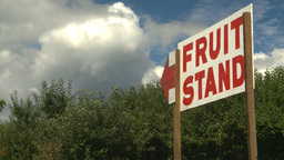 HD2008-8-2-13 fruit stand Okan Stock Video Footage