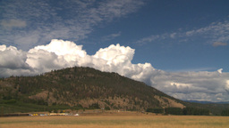 HD2008-8-2-25 Okanagan hills clouds scene Stock Video Footage