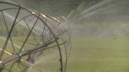 HD2008-8-2-41 farm sprinkler Footage