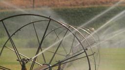 HD2008-8-2-43 farm sprinkler Footage
