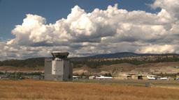 HD2008-8-2-53 ATC 737 takeoff Stock Video Footage