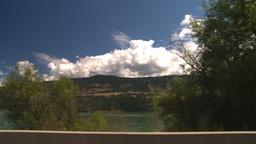 HD2008-8-2-63 drive okanagan lake Stock Video Footage