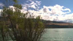 HD2008-8-2-65 drive okanagan lake Stock Video Footage