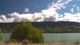 HD2008-8-2-67 drive okanagan lake Stock Video Footage