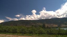HD2008-8-2-69 drive okanagan orchards Stock Video Footage