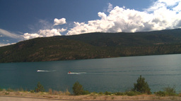 HD2008-8-2-71 drive okanagan Kal Lake Stock Video Footage