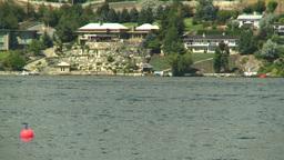 HD2008-8-3-18 Okan Lake motorboats Stock Video Footage
