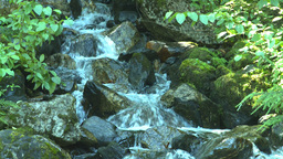 HD2008-8-3-42 mountain stream Stock Video Footage