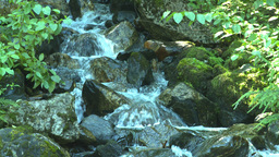 HD2008-8-3-42 mountain stream Stock Video Footage