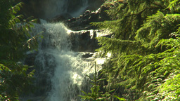 HD2008-8-3-50 mountain stream Stock Video Footage