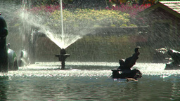 HD2008-8-4-34 water fountain Stock Video Footage