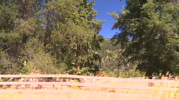 HD2008-8-4-53 drive dry scrubland Stock Video Footage