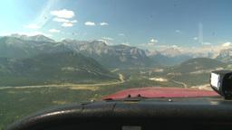 HD2008-8-5-9 C172 in flight thru windshield Stock Video Footage