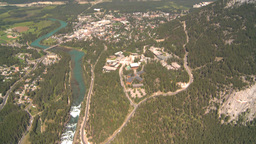 HD2008-8-5-27 aerial banff Stock Video Footage