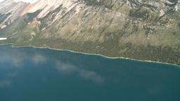 HD2008-8-5-29 aerial lake minn Stock Video Footage