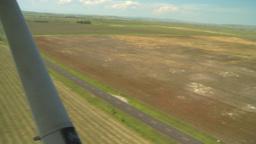 HD2008-8-5-37 aerial landing runway Footage