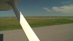 HD2008-8-5-39 aerial taxi runway Footage