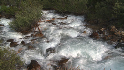 HD2008-8-6-2 mountain stream Stock Video Footage