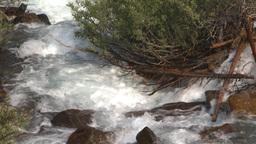 HD2008-8-6-4 mountain stream Stock Video Footage