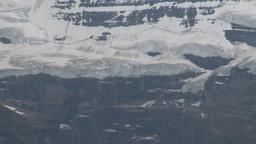 HD2008-8-6-6 glacier rock face Stock Video Footage