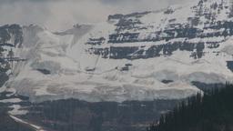 HD2008-8-6-12 glacier rock face Stock Video Footage