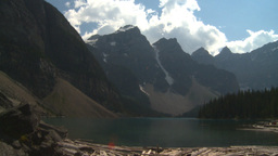HD2008-8-7-3 Moraine lake Stock Video Footage