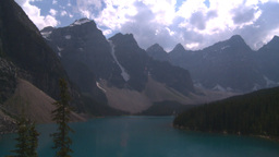 HD2008-8-7-6 Moraine lake Stock Video Footage