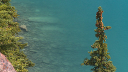 HD2008-8-7-10 Moraine lake Stock Video Footage