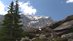 HD2008-8-7-19 snow mtn Stock Video Footage