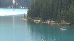 HD2008-8-7-21 canoe Moraine lake Footage