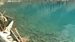 HD2008-8-7-23 Moraine lake Stock Video Footage