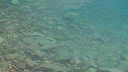 HD2008-8-7-25 Moraine lake reflection depth Stock Video Footage