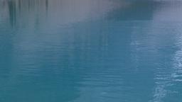 HD2008-8-7-27 Moraine lake skipping stone Stock Video Footage