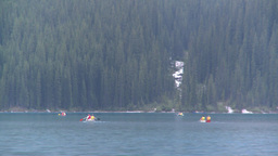 HD2008-8-7-29 canoe Moraine lake Footage