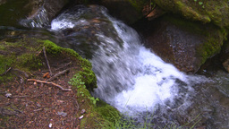 HD2008-8-7-39 mossy mtn stream Stock Video Footage