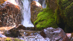 HD2008-8-7-41 mossy mtn stream Stock Video Footage