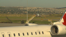 HD2008-8-9-3 jets 737 taxi Stock Video Footage