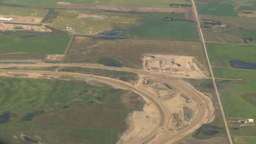 HD2008-8-9-11 737 aerial stony trail const Footage